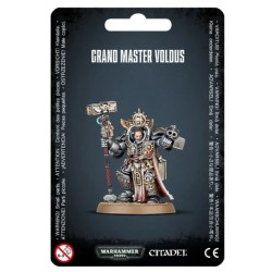 Grey Knights Grand Master Voldus Blister Cover