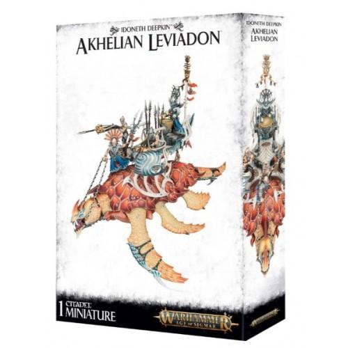 Idoneth Deepkin Akhelian Leviadon Box Cover