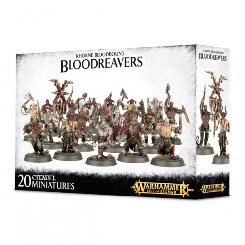 Khorne Bloodhound Bloodreavers Box Cover