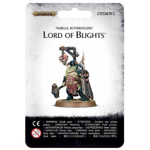 Nurgle Rotbringers Lord of Blight Blister Cover