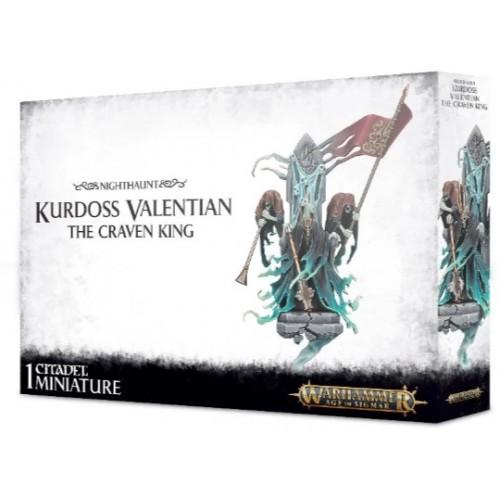 Kurdoss Valentian The Craven King Box Cover