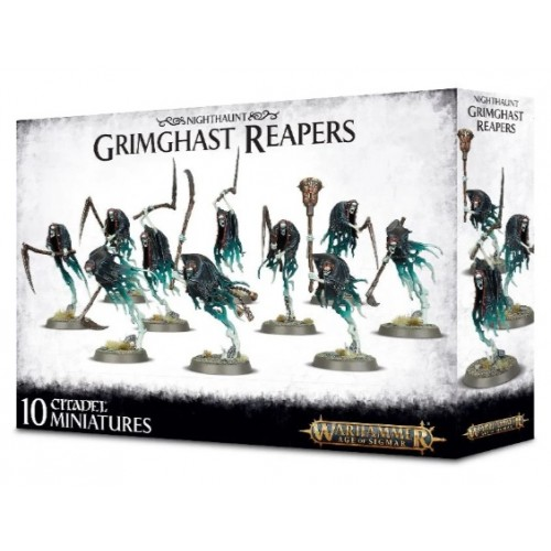 Nighthaunt Grimcast Reapers Box Cover