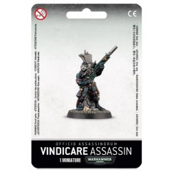 Vindicare Assassin Blister Cover
