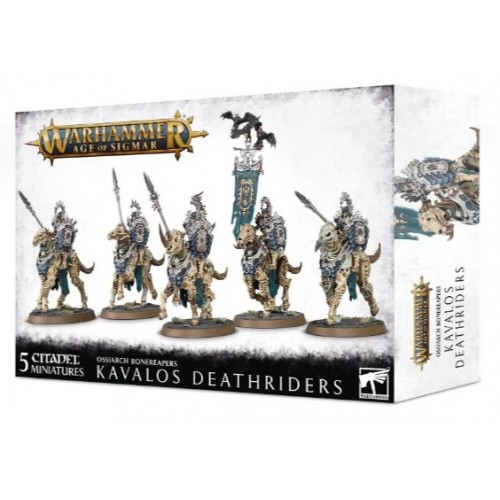Ossiarch Bonereapers: Kavalos Deathriders Box Cover