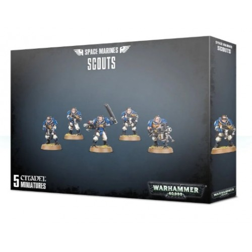 Space Marine Scouts Box Cover