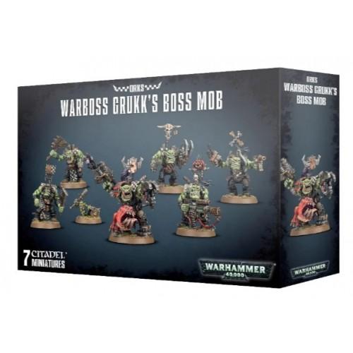Orks Warboss Grukks Boss Mob Box Cover