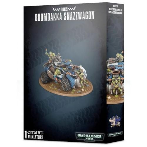 Orks Boomdakka Snazzwagon Box Cover