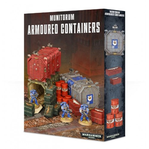 Munitorum Armoured Containers Box Cover