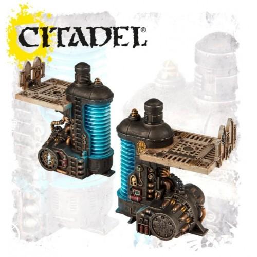 Sector Mechanicus: Thermic Plasma Regulators painted by GW