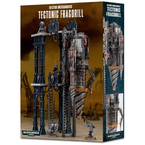 Sector Mechanicus: Tectonic Fragdrill Box Cover