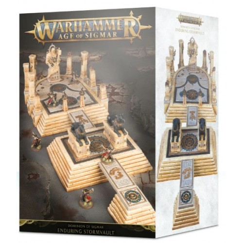 Dominion of Sigmar: The Enduring Stormvault Box Cover
