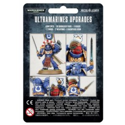 Space Marines Ultramarines Upgrade Pack Box Cover