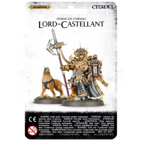 Stormcast Eternals Lord-Castellant Blister Cover