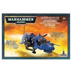 Space Marine Land Speeder Storm Box Cover