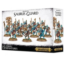 Seraphon Saurus Guard Box Cover