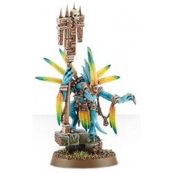 GW painted Seraphon Skink Starpriest Front View