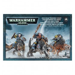 Space Wolves: Thunderwolf Cavalry Box Cover
