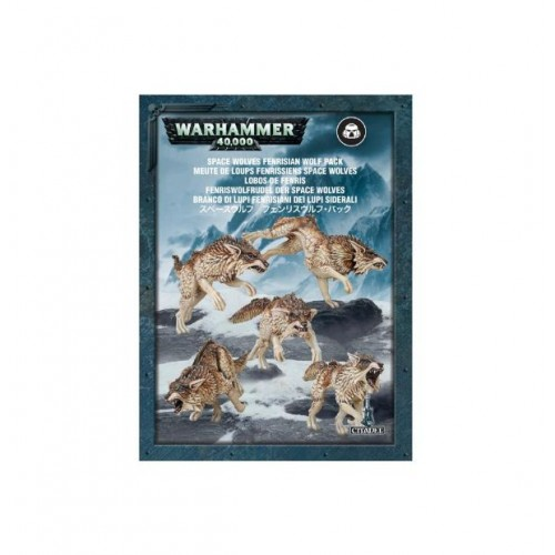 Space Wolves: Fenrisian Wolves Box Cover