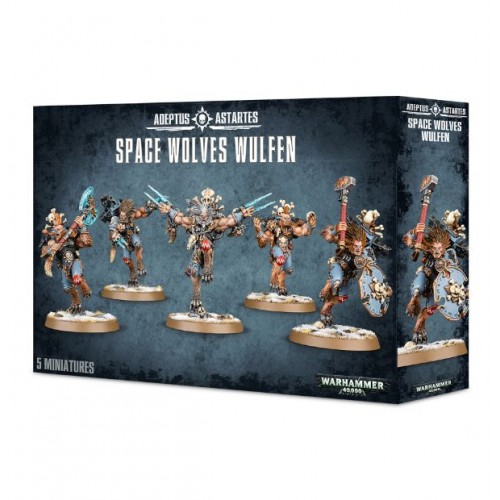 Space Wolves: Wulfen Box Cover