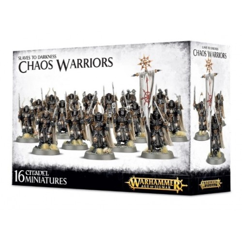 Slaves to Darkness: Chaos Warriors Box Cover
