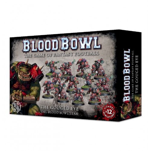 Blood Bowl: The Gouged Eye Orc Team  Box Cover