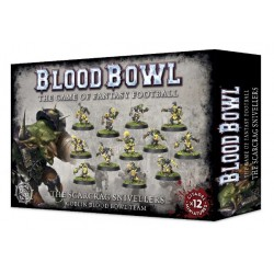 Blood Bowl: Scarcrag Snivellers Goblin Team Box Cover