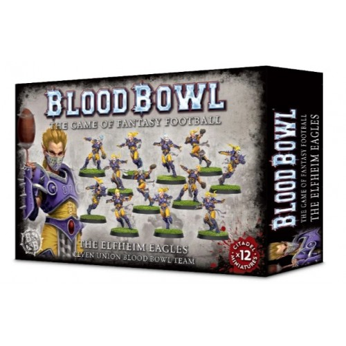 Blood Bowl: Elfheim Eagles Team Elven Union Team Box Cover