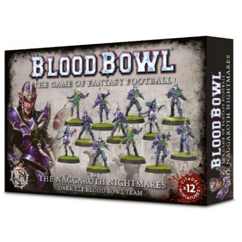 Blood Bowl: Naggaroth Nightmares Dark Elf Team Box Cover