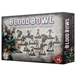 Blood Bowl: The Champions of Death Undead Team Box Cover