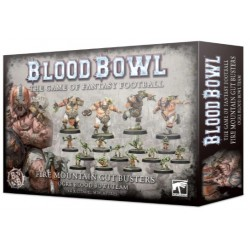 Blood Bowl: Fire Mountain Gut Busters Ogre Team Box Cover