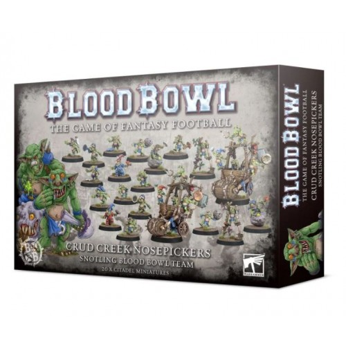 Blood Bowl: Crud Creek Nosepickers Snotling Team Box Cover