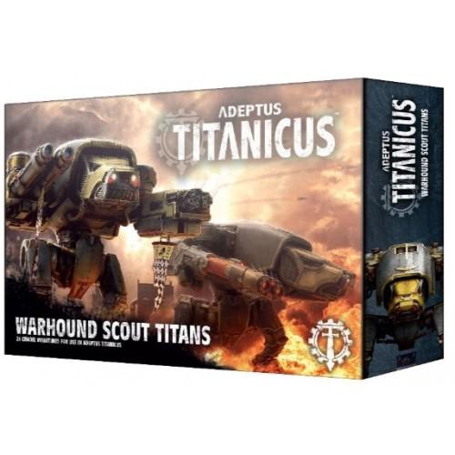 Adeptus Titanicus Warhound Scout Titans Box Cover