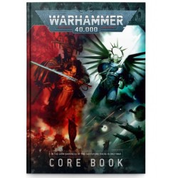 Warhammer 40,000: Core Rule Book Cover from GW