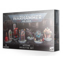 Warhammer 40,000 Battlezone: Manufactorum Objective Set Box Cover
