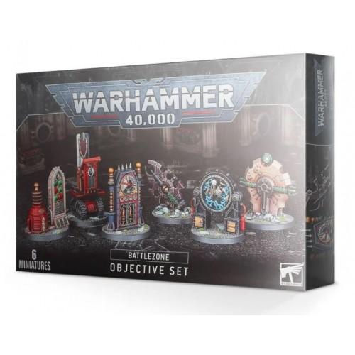 Warhammer 40,000 Battlezone: Manufactorum Objective Set Box Cover