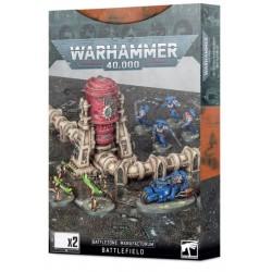 Warhammer 40,000 Battlezone: Manufactorum Battlefield Box Cover