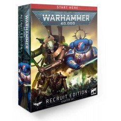 Warhammer 40,000: Recruit Edition Box Cover