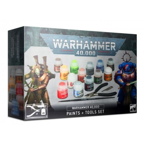Warhammer 40,000: Paint & Tools Set Box Cover