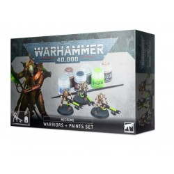 Warhammer 40,000: Necron Warriors & Paint Set Box Cover