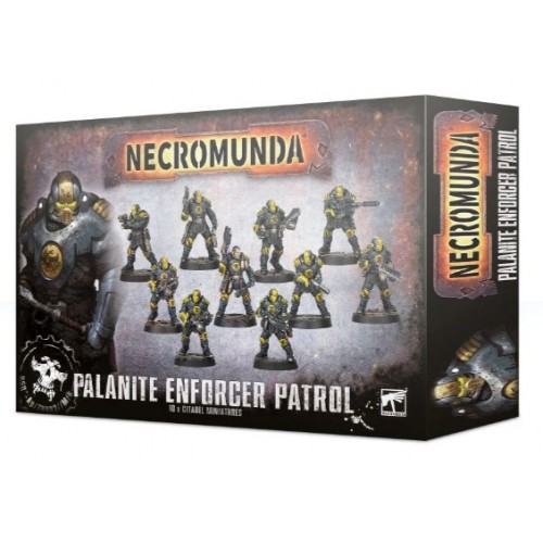 Necromunda: Palanite Enforcer Patrol Box Cover