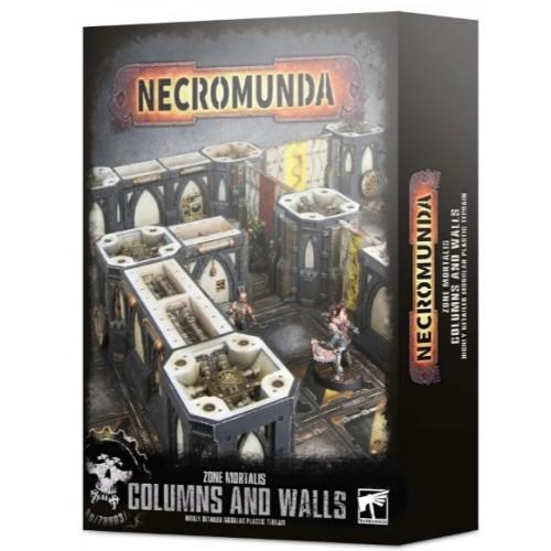 Necromunda: Zone Mortalis Columns and Walls Box Cover