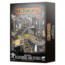 Necromunda: Zone Mortalis Platforms and Stairs Box Cover