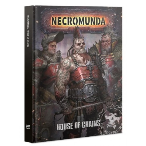Necromunda: House of Chains Cover from GW
