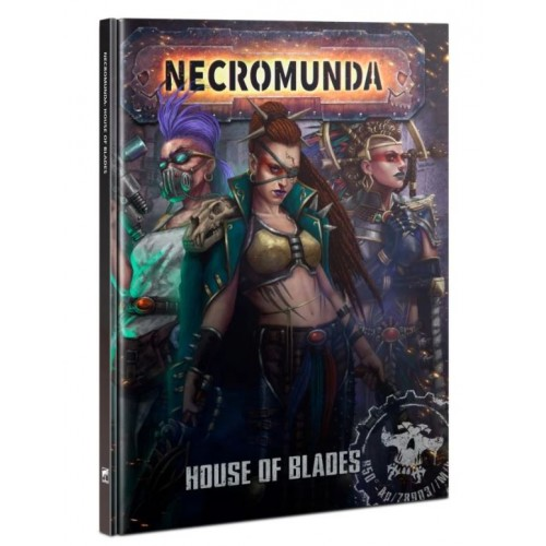 Necromunda: House of Blades Cover from GW