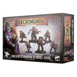 Necromunda: Goliath Stimmers and Forgeborn Box Cover