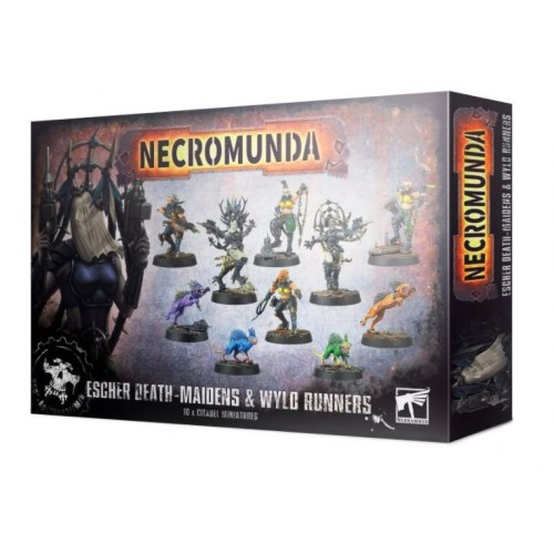 Necromunda: Escher Death Maidens & Wyld Runners Box Cover