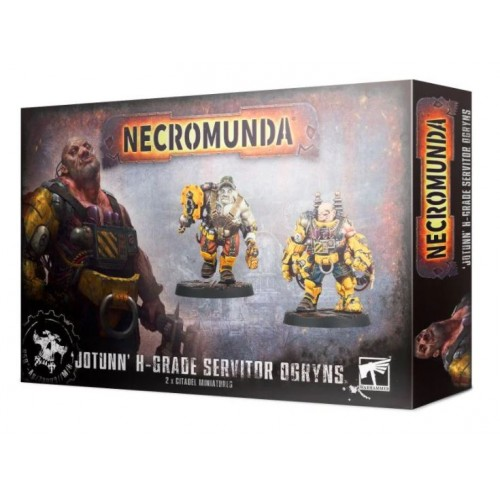 Necromunda: Jotunn H Grade Servitor Ogryns Box Cover