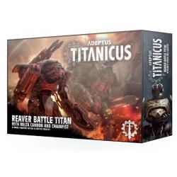 Adeptus Titanicus: Reaver Titan Melta Cannon & Chainfist Box Cover