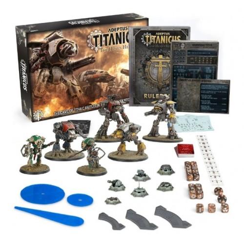 Adeptus Titanicus: Starter Set Box & Contents