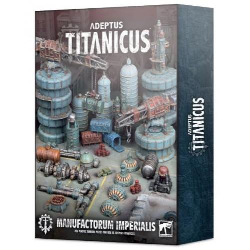 Adeptus Titanicus Manufactorum Imperialis Box Cover